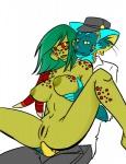 absurd_res alien anal anthro bullsquid danny duo em_(artist) feline female half-life hi_res male male/female mammal nooch sex video_games vortigaunt  Rating: Explicit Score: 2 User: EM Date: August 11, 2011