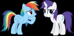 2013 absurd_res alpha_channel austiniousi blue_eyes blue_feathers blue_fur cutie_mark duo equine feathers female feral friendship_is_magic fur hair hi_res horn mammal multicolored_hair my_little_pony pegasus pouting purple_eyes purple_hair rainbow_dash_(mlp) rainbow_fur rainbow_hair rarity_(mlp) shadow simple_background smile transparent_background unicorn white_fur wings  Rating: Safe Score: 4 User: 2DUK Date: June 01, 2013