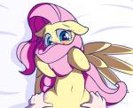 2014 blush cutie_mark duo equine female feral fluttershy_(mlp) friendship_is_magic fur hair human long_hair lying mammal mostazathy my_little_pony navel nude on_back pegasus pink_hair solo_focus suggestive sweat wings yellow_fur   Rating: Questionable  Score: 19  User: lemongrab  Date: October 03, 2014