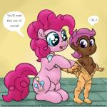 clothed clothing cub cutie_mark_crusaders_(mlp) duo equine flat_chested friendship_is_magic half-dressed horse human humanized loli mammal my_little_pony nipples nude pinkie_pie_(mlp) pony rubber scootaloo_(mlp) sketch smudge_proof suit teats text toddler topless young  Rating: Explicit Score: -2 User: Smudge_Proof Date: November 27, 2015