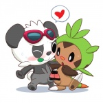 :o <3 anthro balls barefoot bear big_head blush censored chespin claws cute duo erection eyewear frottage fur glasses grinding hinako leaf looking_down male male/male mammal nintendo nude one_eye_closed open_mouth pancham panda penis pokémon round_ears sex sharp_claws smile standing toe_claws video_games  Rating: Explicit Score: 4 User: Tuck_In_Those_Glutes Date: August 12, 2015