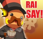 chain english_text eyewear facial_hair fancy gentleman goldenpika hat i_say like_a_sir male monocle mustache nintendo open_mouth pokémon raichu steam suit tea terribly_british text tongue top_hat video_games   Rating: Safe  Score: 32  User: Pink-Tricycle  Date: August 02, 2011