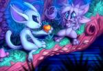 2015 chibi cute female flirting fluffy fruit happy nhala_levee night ori ori_and_the_blind_forest paws thefuckingdevil tree whiskers   Rating: Safe  Score: 13  User: Chi  Date: May 22, 2015