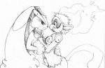 2009 black_sclera female fire flyingrotten food infernape lagomorph lopunny male mammal monkey nintendo nude penis pokémon primate rabbit sketch video_games   Rating: Explicit  Score: 13  User: iwasbored  Date: May 11, 2012