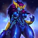 2016 anthro aurelion_sol_(lol) big_breasts breasts dragon female hi_res league_of_legends looking_at_viewer mnxenx001 nipples nude pussy scalie solo space square_crossover standing video_games  Rating: Explicit Score: 24 User: voldosbt Date: April 01, 2016