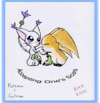 2005 anthro blush cat clothing cute digimon duo ear_tuft feline female fur gatomon gloves kissing long_tail male male/female mammal patamon scar tuft unknown_artist white_fur wings  Rating: Safe Score: 5 User: BushyTailHugger Date: November 19, 2013