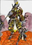 armored bovine hammer hero machine male mammal mecha mechanical nyghtmar3 polearm robot slam_horn solo technology tools warrior weapon   Rating: Safe  Score: 0  User: Nyghtmar3  Date: April 14, 2015