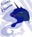 absurd_res blue_fur crown equine eyes_closed famosity female friendship_is_magic fur hi_res horn horse mammal my_little_pony pony princess_luna_(mlp) text whistle winged_unicorn wings   Rating: Safe  Score: 6  User: nom123  Date: March 01, 2014