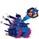 cannon canzar deino diglett hydreigon nintendo pokémon ranged_weapon tank vehicle video_games weapon  Rating: Safe Score: 2 User: Rad_Dudesman Date: January 25, 2016