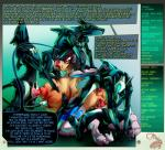 all_fours all_three_filled anal anal_penetration animal_genitalia animal_penis anus bestiality big_breasts black_hair breasts butt canine canine_penis cicada cum cum_in_ass cum_in_mouth cum_in_pussy cum_inside cybernetics cyborg dialogue double_penetration english_text erection fellatio female female_on_feral feral from_behind_position gangbang group group_sex hair hi_res human human_on_feral interspecies machine male male/female mammal nipple_penetration nipples nude oral oral_penetration penetration penis restrained sex text triple_penetration vaginal vaginal_penetration vein veiny_breasts  Rating: Explicit Score: 15 User: Pasiphaë Date: June 21, 2015