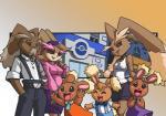 anthro bittenhard buneary cream_the_rabbit facial_hair family female group lopunny male mustache nintendo pokémon sonic_(series) video_games  Rating: Safe Score: 9 User: Rad_Dudesman Date: October 29, 2015