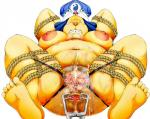 2016 5_toes alternate_version_available anthro anus areola armpit_hair bdsm belly big_areola big_belly big_breasts big_butt blush body_hair bondage bound breasts butt canine clenched_teeth clitoris dog drooling eyelashes eyes_closed female frogtied front_view fully_bound fushigiboshi_no_futagohime hairy hand_behind_head happy_trail hat huge_breasts kokkoman legs_tied lube lying mammal mature mature_female navel nipples obese on_back open_mouth orgasm overweight overweight_female panting pubes pussy pussy_ejaculation pussy_juice queen_yamul questionable_consent restrained rope rope_bondage saliva simple_background solo spread_anus spread_legs spread_pussy spreading sweat tears teeth thick_thighs toes uncensored  Rating: Explicit Score: 1 User: Qmannn Date: May 05, 2016