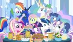 2015 dm29 equine family female fluttershy_(mlp) food friendship_is_magic group hair horn male mammal multicolored_hair my_little_pony night_light_(mlp) pegasus pie princess_cadance_(mlp) princess_celestia_(mlp) princess_luna_(mlp) rainbow_dash_(mlp) rainbow_hair shining_armor_(mlp) spike_(mlp) twilight_sparkle_(mlp) twilight_velvet_(mlp) unicorn winged_unicorn wings  Rating: Safe Score: 2 User: 2DUK Date: November 27, 2015