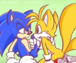 balls blue_eyes blush butt clothing fakerface footwear gloves green_eyes handjob male miles_prower penis shoes sonic_(series) sonic_the_hedgehog sweat  Rating: Explicit Score: 0 User: Untamed Date: August 30, 2015