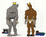 abs anthro belt biceps boots clothed clothing cody_frost codyvfrost construction_worker donkey duo equine footwear fur gloves grin hair half-dressed helmet hypnosis jockstrap male mammal mind_control muscular pecs pose rhinoceros smile standing tool_belt topless underwear  Rating: Questionable Score: -1 User: unforget Date: July 19, 2013