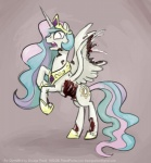 blood bone equine female feral friendship_is_magic gore horn mammal my_little_pony on_hind_legs princess_celestia_(mlp) smudge_proof solo undead winged_unicorn wings zombie   Rating: Questionable  Score: 3  User: Smudge_Proof  Date: October 28, 2014