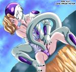 alien dragon_ball dragon_ball_z duo female frieza human male male/female mammal penetration red_eyes sitting vaginal vaginal_penetration zone  Rating: Explicit Score: 6 User: TheTrueLiamay Date: January 28, 2014""