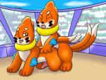 2017 all_fours anal anal_penetration blush buizel crowd cum devilgator17 doggystyle from_behind_position group male male/male nintendo open_mouth penetration penis pokémon public sex stadium tongue tongue_out video_gamesRating: ExplicitScore: 4User: KenHusky17Date: September 11, 2017