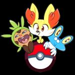 ambiguous_gender amphibian brown_fur chespin cute fennekin froakie frog fur looking_at_viewer mammal nintendo open_mouth orange_eyes pokéball pokémon rodent teeth vaporotem video_games yellow_fur yellow_sclera   Rating: Safe  Score: 2  User: DeltaFlame  Date: February 24, 2015