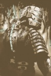 armor dead_space hi_res human isaac_clarke male mammal monochrome naythynn sepia solo video_games  Rating: Safe Score: 16 User: Lulztron Date: September 11, 2011