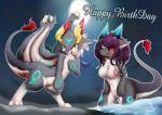 3doss dragon female hair happy_birthday kemono male purple_hair red_eyes yellow_eyes   Rating: Safe  Score: 3  User: KemonoLover96  Date: February 26, 2015