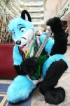 anthro blue_eyes canine finnfox fox fursuit guitar male mammal musical_instrument real schecter solo unknown_artist  Rating: Safe Score: 0 User: baracudaboy Date: September 20, 2010
