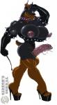 anthro arm_behind_head balls biceps big_balls big_breasts big_penis black_claws breasts brown_fur canine cigarette cigarette_holder claws clothed clothing collar dickgirl digital_media_(artwork) doberman dog dominatrix ear_piercing elbow_gloves facial_piercing frenum_ladder frenum_piercing fur genital_piercing gideon gloves grey_fur half-dressed half-erect hat high_heels huge_breasts huge_penis humanoid_penis intersex leather looking_at_viewer mammal multicolored_fur muscles muscular_intersex nipple_piercing nipples nose_piercing nose_ring penis penis_piercing piercing plain_background precum prince_albert_piercing riding_crop septum_piercing solo spiked_collar spikes toe_claws two_tone_fur watermark   Rating: Explicit  Score: 16  User: CyberSpiral  Date: March 08, 2015