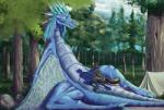 2018 animal_genitalia animal_penis anthro anus auroth_the_winter_wyvern balls bedroom_eyes big_balls big_penis black_fur blue_eyes blue_hair blue_scales butt camp canine canine_penis claws detailed_background digital_media_(artwork) dota dragon duo erection eyes_closed feathered_wings feathers female feral forest fur grey_fur hair half-closed_eyes hi_res intersex male male/female mammal multicolored_fur nude open_mouth outside penetration penis pussy pussy_juice reptile scales scalie seductive sex size_difference spikes tall_lizzard_(artist) teeth tent thick_thighs tongue tree vaginal video_games wide_hips wings wolf wyvernRating: ExplicitScore: 10User: yellow_golfballDate: August 13, 2018