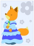 anime beauty canine cartoon clothing cute dress fannyfox flower fox mammal mapletown plant solo verona verona7881  Rating: Safe Score: 2 User: Verona Date: July 25, 2015