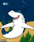 2010 ambiguous_gender blue_body deadjackal dorsal_fin e621 feral fin fish great_white_shark marine mascot mascot_contest necktie shark shark_week solo underwater water  Rating: Safe Score: 3 User: deadjackal Date: February 27, 2010