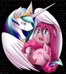 2015 crying earth_pony equine female feral friendship_is_magic hi_res horn horse mammal my_little_pony pinkamena_(mlp) pinkie_pie_(mlp) pony princess_celestia_(mlp) sad smile tears vavacung winged_unicorn wings   Rating: Safe  Score: 9  User: Robinebra  Date: March 20, 2015