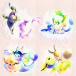 abstract_background ambiguous_gender black_fur blue_eyes blue_fur blue_skin brown_fur butt cute eevee eeveelution espeon eye_contact eyes_closed feral fin flareon forked_tail fur glaceon group jolteon kissing leafeon nintendo on_top open_mouth orange_fur pokémon purple_fur raised_tail rear_view red_eyes tan_fur text translated tuft umbreon unknown_artist vaporeon video_games yellow_eyes yellow_fur   Rating: Safe  Score: 3  User: Hydr0  Date: February 08, 2015