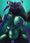 anthro big_breasts big_dom_small_sub breast_grab breasts domination dragon female female_domination female_on_top first_person_view glowing glowing_eyes grin hand_on_breast horn kinojaggernov lei-lani looking_at_viewer low-angle_shot male male/female marine on_top penetration penis scalie sex size_difference smile tongue tongue_out underwater vaginal vaginal_penetration water  Rating: Explicit Score: 20 User: h4x0r Date: April 02, 2015