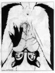 1997 anthro anus black_and_white breasts claws female james_m_hardiman looking_at_viewer mammal monochrome nipples nude onyx_(jmh) pussy skunk solo traditional_media_(artwork)Rating: ExplicitScore: 9User: Lord_DarconiumDate: July 27, 2017