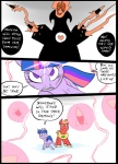<3 battle big_macintosh_(mlp) blood cloak clothing comic earth_pony equine feral friendship_is_magic glowing group hair horn horse magic mammal metal_(artist) missile my_little_pony pony scratches simple_background skull twilight_sparkle_(mlp) unicornRating: SafeScore: 0User: IndigoHeatDate: March 25, 2017