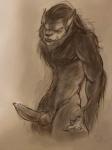 animal_genitalia anthro balls canine canine_penis cum erection knot male mammal penis precum solo tandemonium were werewolf  Rating: Explicit Score: 8 User: furmann Date: June 30, 2013