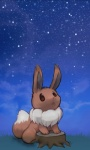 ambiguous_gender brown_eyes brown_fur brown_nose canine chest_tuft cute eevee fascinated feral fur grass looking_up mammal night nintendo open_mouth pokémon sky solo star stump tuft unknown_artist video_games white_fur wood   Rating: Safe  Score: 2  User: Hydr0  Date: February 08, 2015