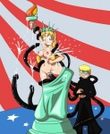 anthro big_breasts blonde_hair breasts cosplay cum cum_everywhere cum_in_hair cum_in_pussy cum_inside cum_on_breasts cum_on_face dahs duo female fourth_of_july green_eyess hair human igocu knightsnipe male male/female mammal messy not_furry pussy statue_of_liberty tentacles ucogi  Rating: Explicit Score: 3 User: my_bad_english Date: September 08, 2015