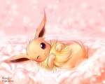 2010 3_toes :3 ambiguous_gender black_nose blush brown_fur canine cloud cute eevee fur looking_at_viewer mammal nintendo one_eye_closed pokémon purple_eyes solo sunny_(artist) toes video_games   Rating: Safe  Score: 4  User: Hydr0  Date: February 08, 2015