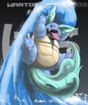 ambiguous_gender chubby claws english_text gillpanda long_tongue marine_turtle nintendo open_mouth pokémon reptile scalie smile solo text tongue tongue_out turtle video_games wartortle water wings   Rating: Safe  Score: 2  User: UNBERIEVABRE!  Date: June 26, 2014