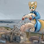 2018 anthro balls big_balls canine cock_vore crossgender destruction detailed_background dickgirl dicknipples digital_media_(artwork) erection foreskin fox fox_mccloud fur grotesque hair huge_balls humanoid_penis hyper hyper_balls hyper_penis intersex macro mammal nintendo open_mouth outside partially_retracted_foreskin penis power_station sea sky smile smudge_proof solo star_fox uncut vacuum_dicknipples vacuum_penis video_games vore water watermark what what_has_science_done why zero_suit_foxRating: ExplicitScore: -4User: Smudge_ProofDate: April 22, 2018