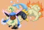 3_toes :d ambiguous_gender anime ass_up aura black_fur blue_eyes blue_skin brown_skin bubble cute eevee eeveelution electricity espeon fire flareon fluffy fur glaceon hybrid japanese jolteon leaf leafeon leaves marine nintendo open_mouth orange_background pink_skin plain_background pointy_ears pokémon raised_leg red_skin scalie shadow shiny snow solo spread_legs spreading tan_fur this_isnt_even_my_final_form toes tongue umbreon unknown_artist vaporeon video_games what_has_science_done yellow_fur young   Rating: Safe  Score: 1  User: WiiFitTrainer  Date: May 21, 2013