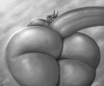 anthro big_butt big_thighs butt dragon female horn huge_butt looking_at_viewer looking_back presenting presenting_hindquarters scalie smile solo teasing thick_thighs vorry  Rating: Questionable Score: 13 User: dragonrump Date: April 05, 2013