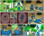 2015 anthro anus belly birth black_fur blue_fur blue_hair breasts butt canine clothed clothing comic dialogue duo english_text eyes_closed female fur hair hand_on_belly human labor livinlovindude lucario male mammal nintendo nude open_mouth pokémon pregnant pussy raised_tail rebirth red_eyes riolu scarf size_difference sleeping spread_legs spreading text tongue tongue_out transformation unbirthing video_games vore wet yellow_fur  Rating: Explicit Score: 3 User: GameManiac Date: July 03, 2015