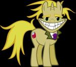 2014 absurd_res astringe blonde_hair cartoon courage_the_cowardly_dog cutie_mark digital_media_(artwork) equine freaky_fred friendship_is_magic grin hair hi_res horn male mammal my_little_pony nightmare_fuel ponification right_in_the_childhood solo unicorn vector what why  Rating: Safe Score: 14 User: anthroking Date: January 27, 2014