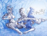 2013 anthro blue_fur blue_hair breasts canine cave clitoris cool_colors cunnilingus duo ear_piercing feline female fur grope hair ice leopard licking lying male male/female mammal nipple_piercing nipples nude on_front oral penis piercing pussy rori sabretoothed_ermine sex snow snow_leopard spread_legs spreading tongue tongue_out vaginal whiskers winter wolf  Rating: Explicit Score: 24 User: TonyLemur Date: June 20, 2013
