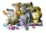 2018 3_toes 4_fingers almonds_(artist) anthro anus blue_fur breasts buckteeth cartoon_network cat crossover digital_media_(artwork) disney dot_eyes eyelashes feline female flat_chested fur green_eyes grey_fur group hi_res judy_hopps kneeling lagomorph light_skin lying mammal marsupial mature_female mother muscular navel nicole_watterson nipples nude on_back on_side one_eye_closed open_mouth opossum parent pig poppy_opossum poppy_opossum_(character) porcine purple_eyes pussy rabbit rosita_(sing) selfie simple_background sing_(movie) smile teeth the_amazing_world_of_gumball thick_tail toes v_sign whiskers white_background white_fur wink zootopiaRating: ExplicitScore: 4User: GrosserKurfurstDate: February 21, 2018