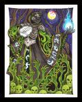 black_tiger clothed clothing dante_eldricson fantasy feline glowing luthien_nightwolf magic magic_user male mammal necromancer red_eyes robe runes skull tigerRating: SafeScore: 1User: dojofishDate: January 22, 2018