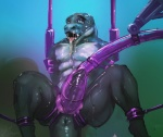 anus bdsm bondage bound cum cum_in_mouth cum_inside dinosaur drooling erection gag gagged machine male milking_machine nude o-ring penis penis_milking raptor restrained saliva scalie solo theropod winddragon  Rating: Explicit Score: 20 User: Peekaboo Date: March 22, 2015