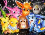 :3 ambiguous_gender ball black_fur black_nose blue_fur blue_skin brown_eyes canine eevee eeveelution espeon feral flareon fur glaceon green_fur group jolteon leafeon looking_at_viewer mammal nintendo open_mouth pokémon purple_fur red_eyes red_fur reflection sunny_(artist) umbreon vaporeon video_games yellow_eyes yellow_fur   Rating: Safe  Score: 3  User: Hydr0  Date: February 08, 2015